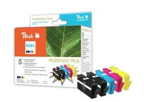 Peach Remanufactured 364 MultiPack Plus alternativní cartridge / HP Photosmart D5460 / MultiPack Plus
