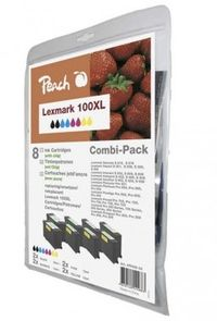 Peach 100XL MultiPack alternativní cartridge / Lexmark S305 / nový chip / MultiPack