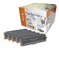Peach Remanufactured 125A alternativní toner/ HP CLJ 1x15, CM1312 / 2x2.000/3x1400 stran / Multipack Plus