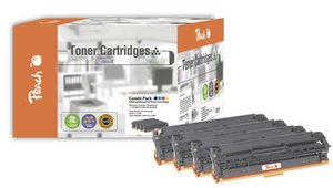 Peach Remanufactured CC53A alternativní toner / HP 2320 / 3.500/3x2800 stran / MultiPack