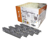 Peach Remanufactured Q3960-3A alternativní toner / HP CLJ 2550, 2820 /  5000/3x4.000 stran / MultiPack
