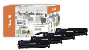 Peach Remanufactured CE41A alternativní toner / CLJ  M351, M375 / 2.200/3x2600 stran / MultiPack
