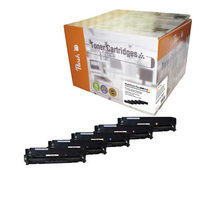 Peach Remanufactured CE41A alternativní toner / CLJ  M351, M375 / 2x2.200/3x2600 stran / MultiPack Plus