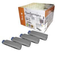 Peach Remanufactured alternativní toner C5650-series MultiPack / C5650, 5750 / 8.000/ 3x2000 stran / MultiPack