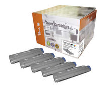 Peach Remanufactured C5550/5800/5900 MultiPack Plus alternativní toner / OKI C5800 / 2x8.000/3x6000 / MultiPack Plus