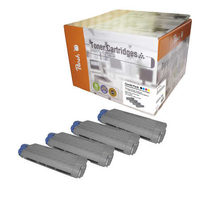 Peach Remanufactured alternativní toner C5850-series Multipack / C5850, C5950 / 8.000/3x6000 stran / MultiPack