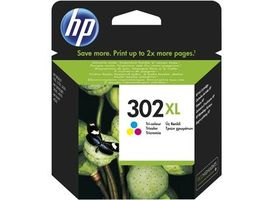 HP F6U67AE originální cartridge 302XL / DeskJet 1110, 2130 / 330 str. / 8ml. / Cyan/Magenta/Yellow