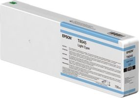 Epson originální cartridge T804500 UltraChrome HDX/HD / 700ml / Vivid Modrá