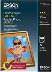 EPSON Paper A3 Glossy - Photo (50 sheets)