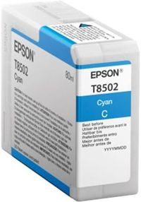 EPSON originální cartridge T850200 UltraChrome HD / 80ml / Modrá photo