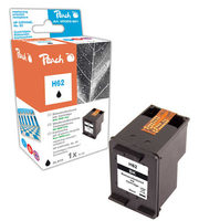 Peach Remanufactured HP62 alternativní cartridge / HP Envy 5640 / OEM chip / 4.3ml / černá