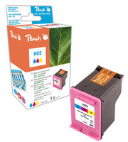 Peach Remanufactured HP62 alternativní cartridge / HP Envy 5640 / OEM chip / 9ml / barevná