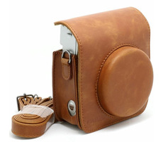 Fujifilm Instax 9 Leather Case Brown