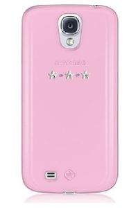 Samsung Galaxy S 4 (i9505) - zadní kryt Bling My thing Les Étoiles Pink Mix - MADE WITH SWAROVSKI® ELEMENTS