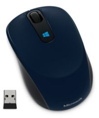 Microsoft Sculpt Mobile Mouse Wireless / 4000dpi / BlueTrack / Myš / USB / Win 8 / modrá