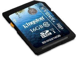 Kingston SDHC Ultimate UHS-I 16GB