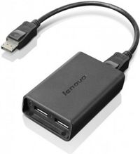Lenovo DisplayPort na Dual DisplayPort Adaptér