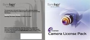 Synology Camera License Pack x 4 pack
