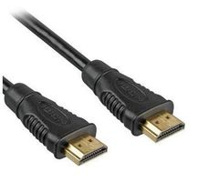 PremiumCord HDMI High Speed + Ethernet kabel, zlacené konektory, 0,5m