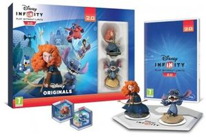 PS3 Disney Infinity 2.0: Disney Originals Toy Box Combo Pack / Playstation 3