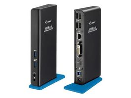i-tec USB 3.0 Dual Docking Station + USB Charging Port