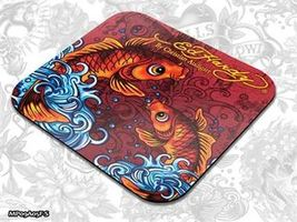 ED HARDY Mouse Pad Small Fashion 2 - Koi Fish red / podložka pod myš