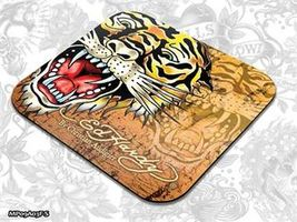 ED HARDY Mouse Pad Small Fashion 2 - Tiger gold / podložka pod myš