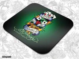 ED HARDY Mouse Pad Small Fashion 1 - Love is a Gamble / podložka pod myš