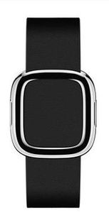 Apple Watch Modern Buckle 38mm Medium / pásek pro Apple Watch / 145–165mm / Kožený / černý