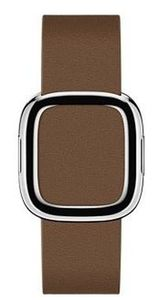 Apple Watch Modern Buckle 38mm Small / pásek pro Apple Watch / 135–150mm / Kožený / hnědý
