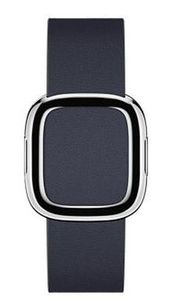 Apple Watch Modern Buckle 38,40mm Medium / pásek pro Apple Watch / 145–165mm / Kožený / modrý