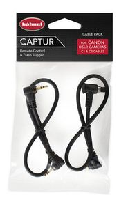 Hähnel Cable Pack Canon / kabely pro připojení Captur Pro Modul/Giga T Pro II