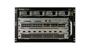 D-Link 8-slot managed chassis layer 2/3+ switch starter kit / základní kit