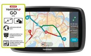 "TomTom GO 610 World / Traffic Lifetime mapy / 6"" displej"