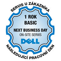 BASIC DELL prodloužení záruky o 1 rok pro notebooky a PC XPS / on-site Next Business Day