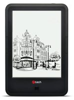 "C-TECH Lexis (EBR-61) / E-book / 6"" HD Carta displaj / WiFi  / Android 4.2 / černá"