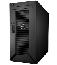 DELL PowerEdge T20 / Xeon Quad Core E3-1225 v3 / 8GB ECC / 2x 1TB SATA / GLAN / černá / 3YNBD