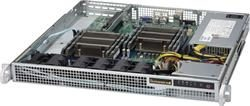 "SUPERMICRO mini1U chassis / 1x 3.5"" fixed HDD/ 440-480W (Platinum)"