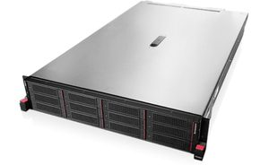 "Lenovo ThinkServer RD650 Rack / Intel Xeon E5-2630v3 2.4GHz / 2x8GB / 8x 2.5"" SATA-SAS / DVD / 750W 80+ Platinum"