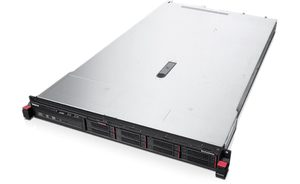 "Lenovo ThinkServer RD350 Rack / Intel Xeon E5-2620v3 2.4GHz / 16GB / 8x 2.5"" SATA-SAS / DVD / 550W Platinum"