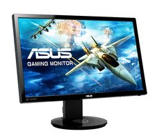 "24"" ASUS VG248QE / TN / FHD 1920 x 1080 / 16:9 / 1 ms / 350 cd / 80M:1 / DVI + HDMI + DP"