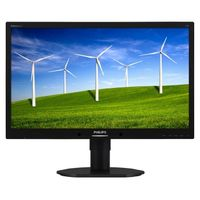"22"" PHILIPS 220B4LPYCB / LED / 1680 x 1050 / TN / 16:10 / 5ms / 250cd-m2 / 20mil:1 / DVI / DP / Repro / Pivot / Černý"