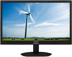 "Philips LCD 220S4LCB 22""wide/1680x1050/5ms/20mil:1/DVI/LED/pivot"
