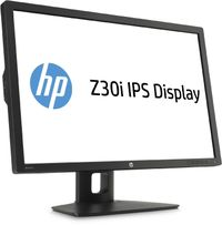"30"" HP Z30i / LCD / 2560 x 1600 / AH-IPS / 16:10 / 8ms / 1000:1 / 350cd/m2 / DVI / DP / USB / VESA / Černý"