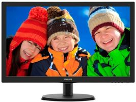"22"" PHILIPS 223V5LSB2 / LCD / 1920 x 1080 / TN / 16:9 / 5ms / 250cd-m2 / 1000:1 / VGA / Černý"