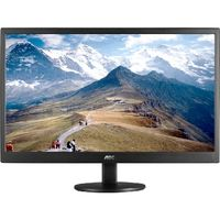 "21.5"" AOC e2270swn / LED / 1920 x 1080 / 16:9 / 5ms / 600:1 / 200cd/m2 / VGA / Černý"