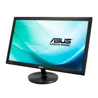 "23.6"" ASUS VS247HR / TN / FHD 1920 x 1080 / 16:9 / 2 ms / 250 cd / 50M:1 / VGA + DVI + HDMI"