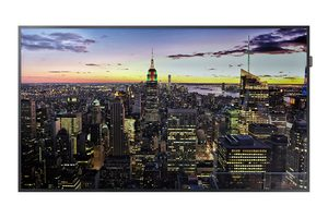 "55"" SAMSUNG QM55F / LED / 3840 x 2160 / E-LED BLU / 8ms / 4 000:1 / 500cd-m2 / HDMI+DP+DVI / Černý"