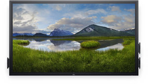 "74.5"" DELL C7520QT Touch / WLED / 3840 x 2160 / 16:9 / 8 ms / 1 200:1 / 350 cd / 3x HDMI + DP + VGA / 3x USB / 3YNBD"