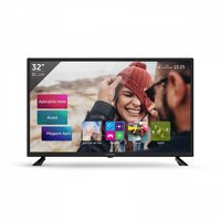 "32"" ALLVIEW 32ATS5500-H černá / Smart TV / LED / 1366 x 768 / 16:9 / 180 cd / 1000:1 /DVB-T2 / HDMI+USB+VGA+LAN / Wi-Fi"